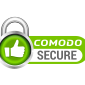 Comodo Secure clipping path creative