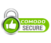 Comodo Secure clipping path creative