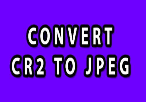 convert cr2 to jpeg