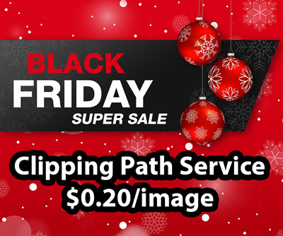 Black Friday Clipping Path Service Discount Offer