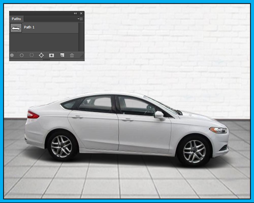 car photo editing
