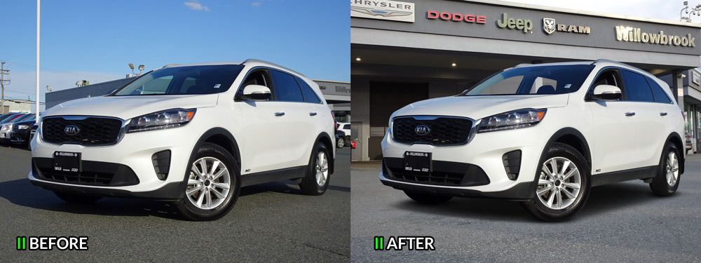 car image editing