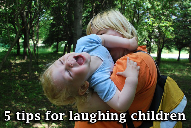 tips for laughing children