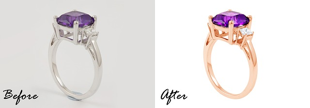 photo retouching for eCommerce