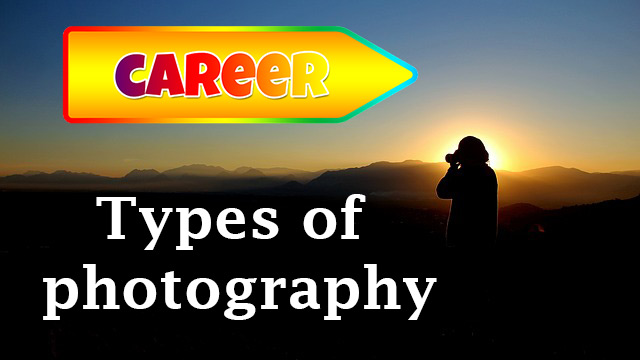 types of professional photography