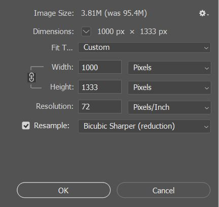 How to Reduce image size in photoshop