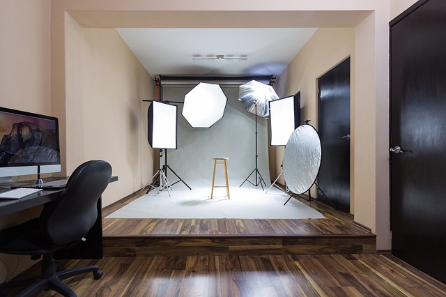 home studio for your photography business